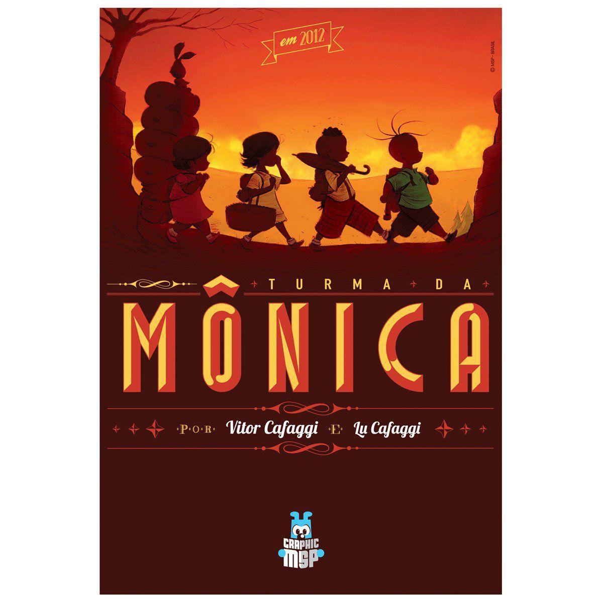 Poster Turma da Mônica Toy Em 2012