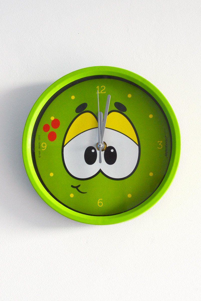 Relógio de Parede Turma da Mônica Olhões Horácio