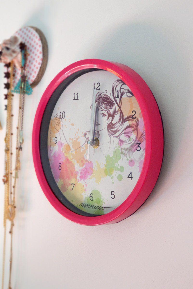 Relógio de Parede Turma da Mônica Jovem - Magali