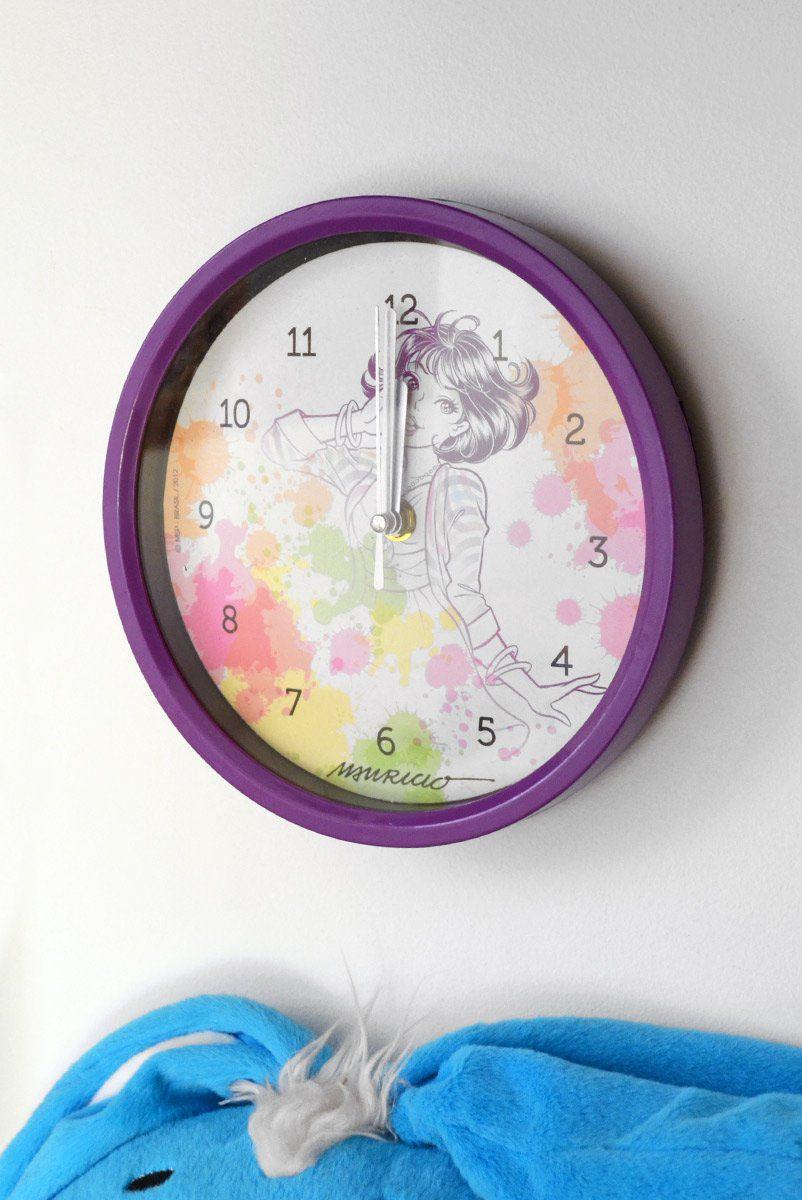 Relógio de Parede Turma da Mônica Jovem - Mônica