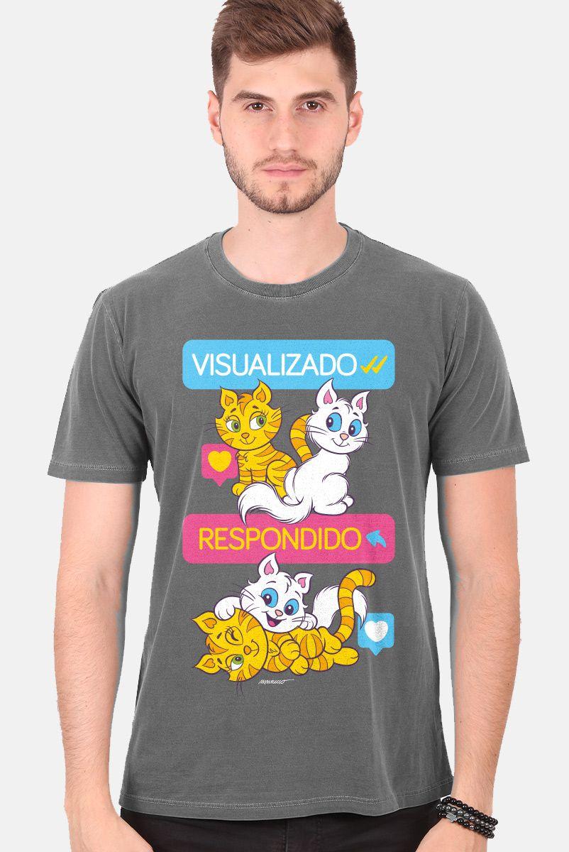 T-shirt Premium Masculina Turma da Mônica Visualizado e Respondido