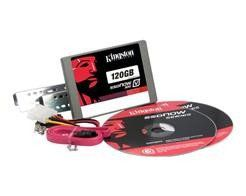 SSD Kingston SATA 120GB V300 (C/ KIT INSTAL. Desktop) - SV300S3D7/120G