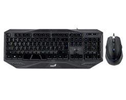 Kit Teclado e Mouse Genius Gaming KM-G230 Preto USB - 31330029108