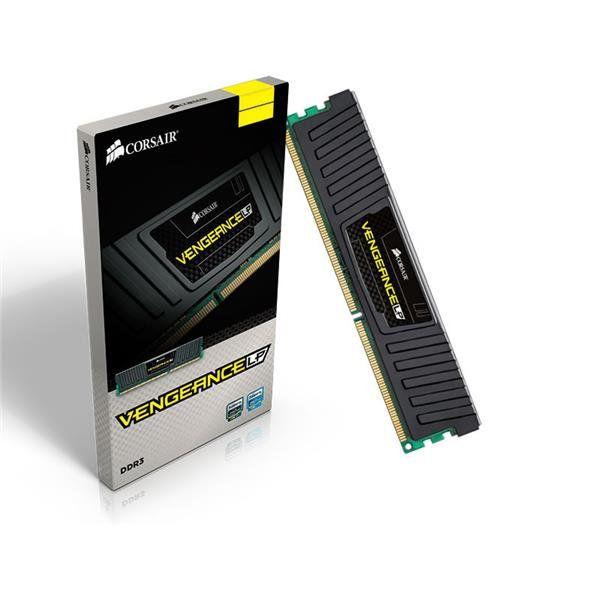 Memoria Corsair Vengeance LP BLACK 4GB DDR3 1600MHZ - CML4GX3M1A1600C9