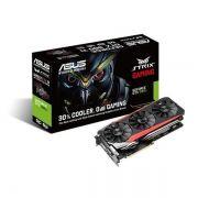 Placa de Video ASUS Geforce GTX 980TI 6GB DDR5 384BITS - STRIX-GTX980TI-DC3OC-6GD5
