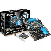 Placa Mae ASROCK INTEL X99 (2011-3) ATX - X99 EXTREME4/3.1 (IMP)