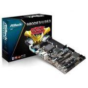 Placa Mae ASROCK AMD 770 (3+) ATX - 980DE3/U3S3 (IMP)