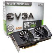 Placa de Video EVGA Geforce GTX 960 SSC 4GB DDR5 128BITS - 04G-P4-3967-KR