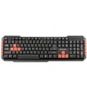 Teclado Multilaser sem Fio 2.4GHZ Multimidia Gamer RED KEYS USB - TC191