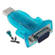 Adaptador USB 2.0 Serial Conversor RS232 DB9 - 9 Pinos