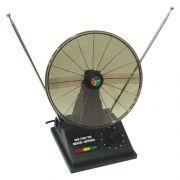Antena Interna para TV UHF/VHF/FM com Seletor - Cabo 1,0MT