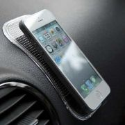 Anti SLIP CAR PAD Tapete Mágico Antiderrapante P/ Celular Smartphone iPhone Galaxy e Mais