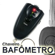 Bafometro Chaveiro C/ Lanterna Elitometro Alcool Evite Multa