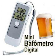 Bafometro Digital LCD C/ Relogio Alarme e Termometro