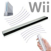 Barra Sensor BAR sem Fio Wireless Nintendo Wii +infravemelho