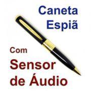 Caneta Espia Gravadora com Sensor de AUDIO- Grava Automatico