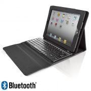 Capa Case + Teclado Bluetooth para Tablet e iPad 8´
