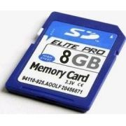 Cartao Memoria SD 8 GB ALTA VELOC- ORIGINAL-CAMERA /MP3-SDHC