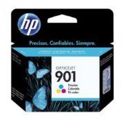 Cartucho HP 901 Officejet Jato de Tinta Tricolor 13ML - CC656AB