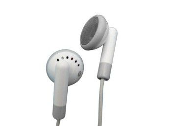 Fone de Ouvido para MP3 MP4 Celular Apple iPod iPhone Galaxy