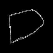 Borracha de Porta Kombi 1975 até 1997