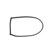 Borracha Janela | Fixa | Uno | 2 Portas | Direita | Esquerda