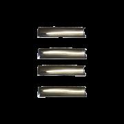 Capa Maçaneta Externa S10 / Blazer 96/02 4 Portas Cromada