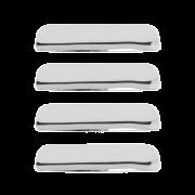 Capa Maçaneta Externa Vectra 06/ Agile 09/ Captiva 4 Portas Cromado
