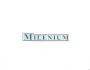 Emblema Milenium (Astra/Corsa/Vectra) Resinado