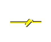 Filet Lateral Fusca Amarelo (Pl009)