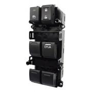 Interruptor Vidro Elétrico Honda Fit 2015 até 2016 LX | EX | Exl  Quadruplo