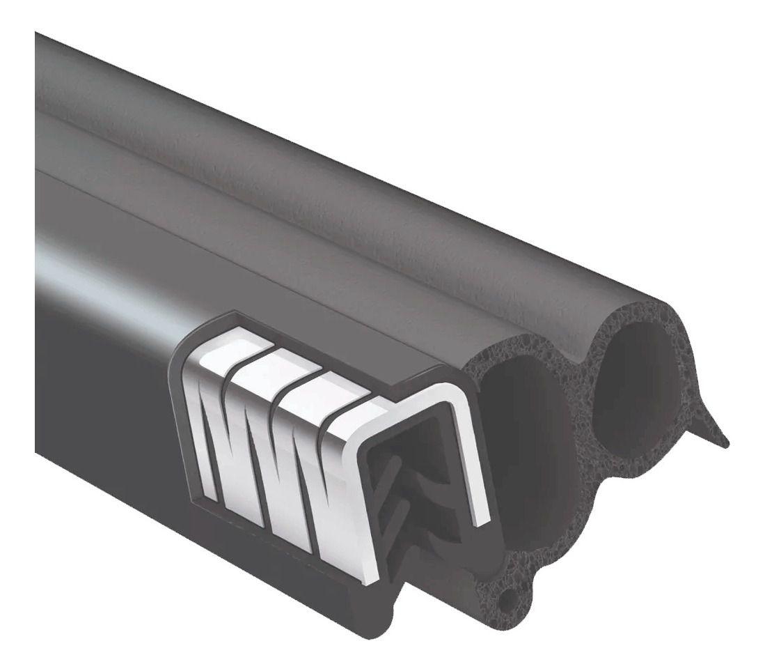 Borracha Porta S-10 / Blazer 01/ - Hilux 95/97 - Com Aba