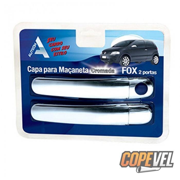 Capa Maçaneta Externa Gol G5/Fox/Polo/Golf 4 Portas Cromada