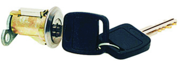 Cilindro Porta Malas Belina II 1977 até 1991 Com Chave