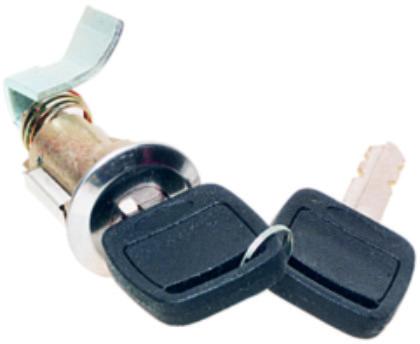 Cilindro Porta Malas Del Rey 1981 até 1991  Com Chave