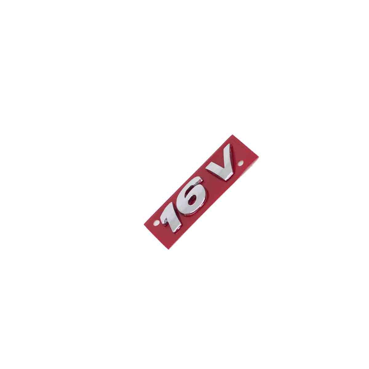 Emblema 16V Gol / Voyage / Parati / Saveiro / Todos G3 Pequeno