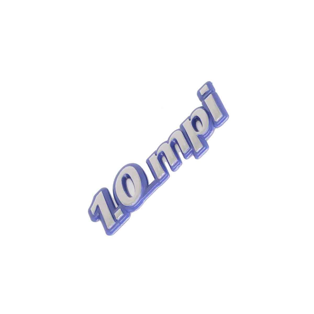 Emblema 1.0 MPI Fiat Azul