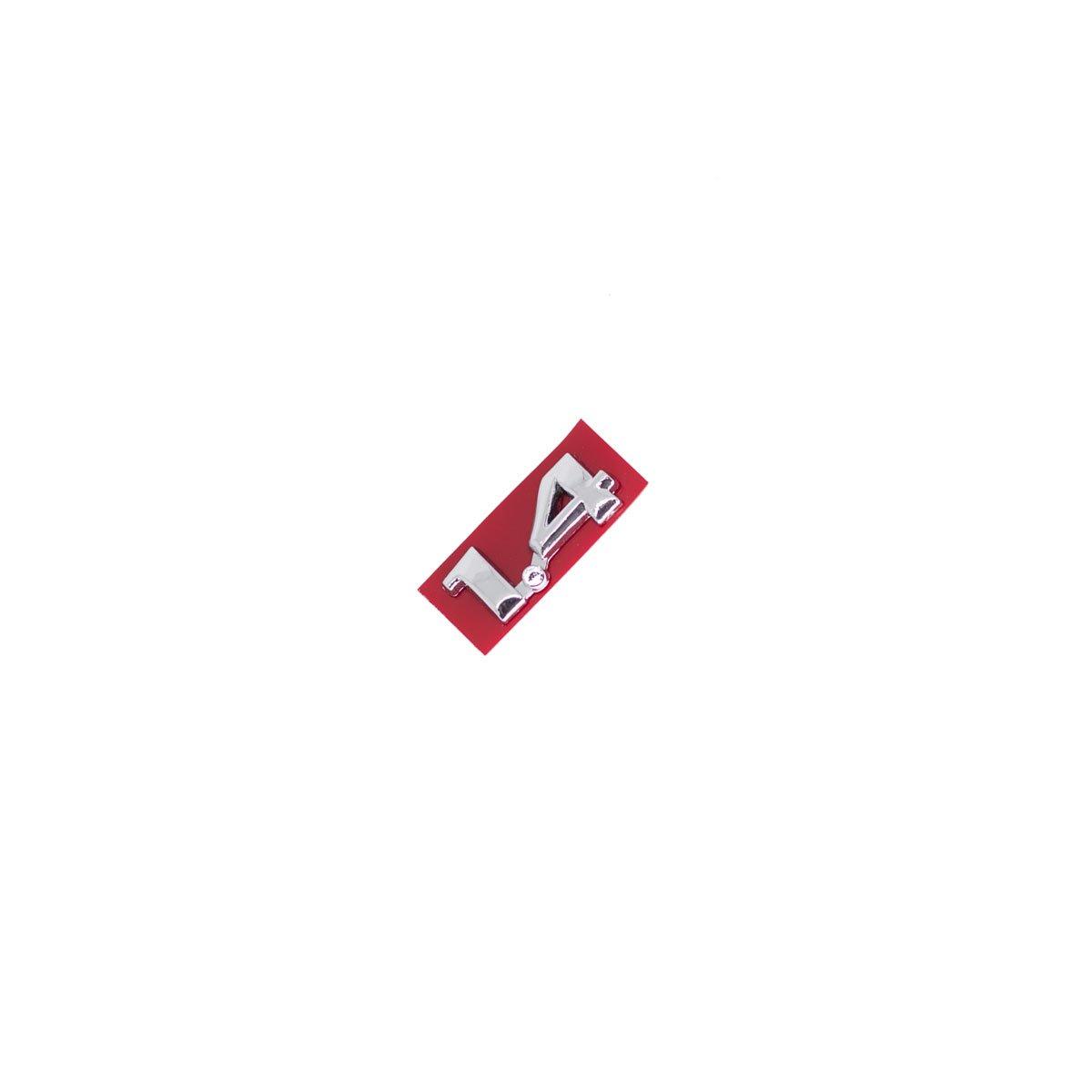 Emblema 1.4 Corsa 96/ Cromado