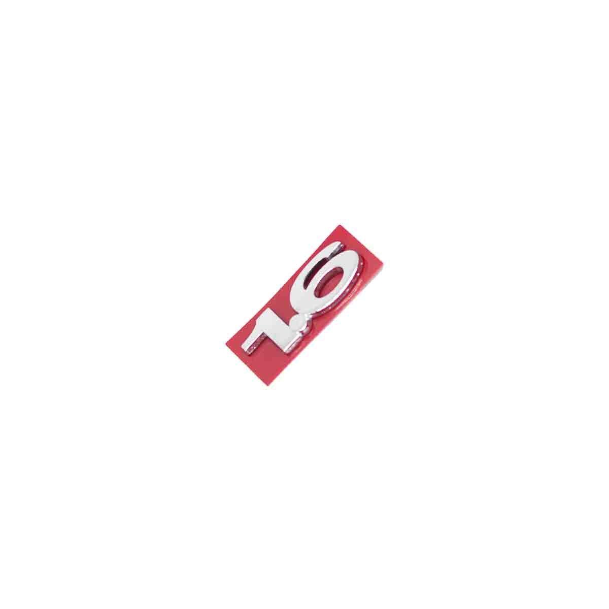 Emblema 1.6 Fiesta 2002/