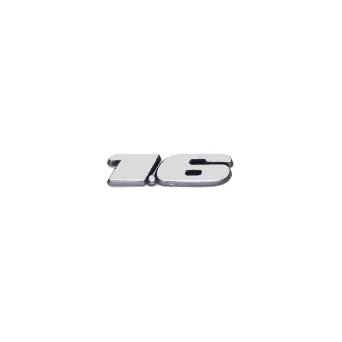Emblema 1.6 Gol / Voyage / Parati / Saveiro / Todos 97/99 Escovado