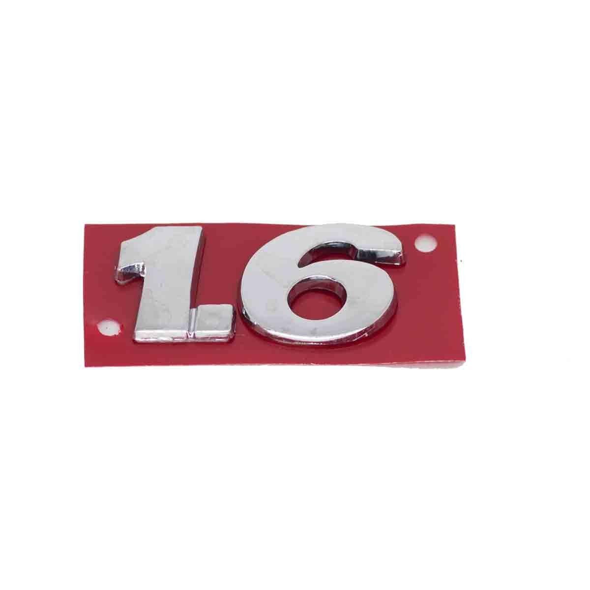 Emblema 1.6 G5 Cromado