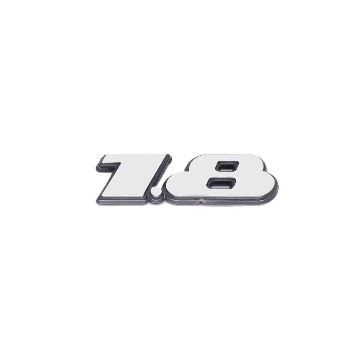 Emblema 1.8 Golf 97/99 Escovado