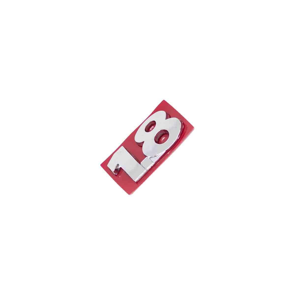 Emblema 1.8 Parati / Saveiro / Passat / Pointer / Bora / Todos G3
