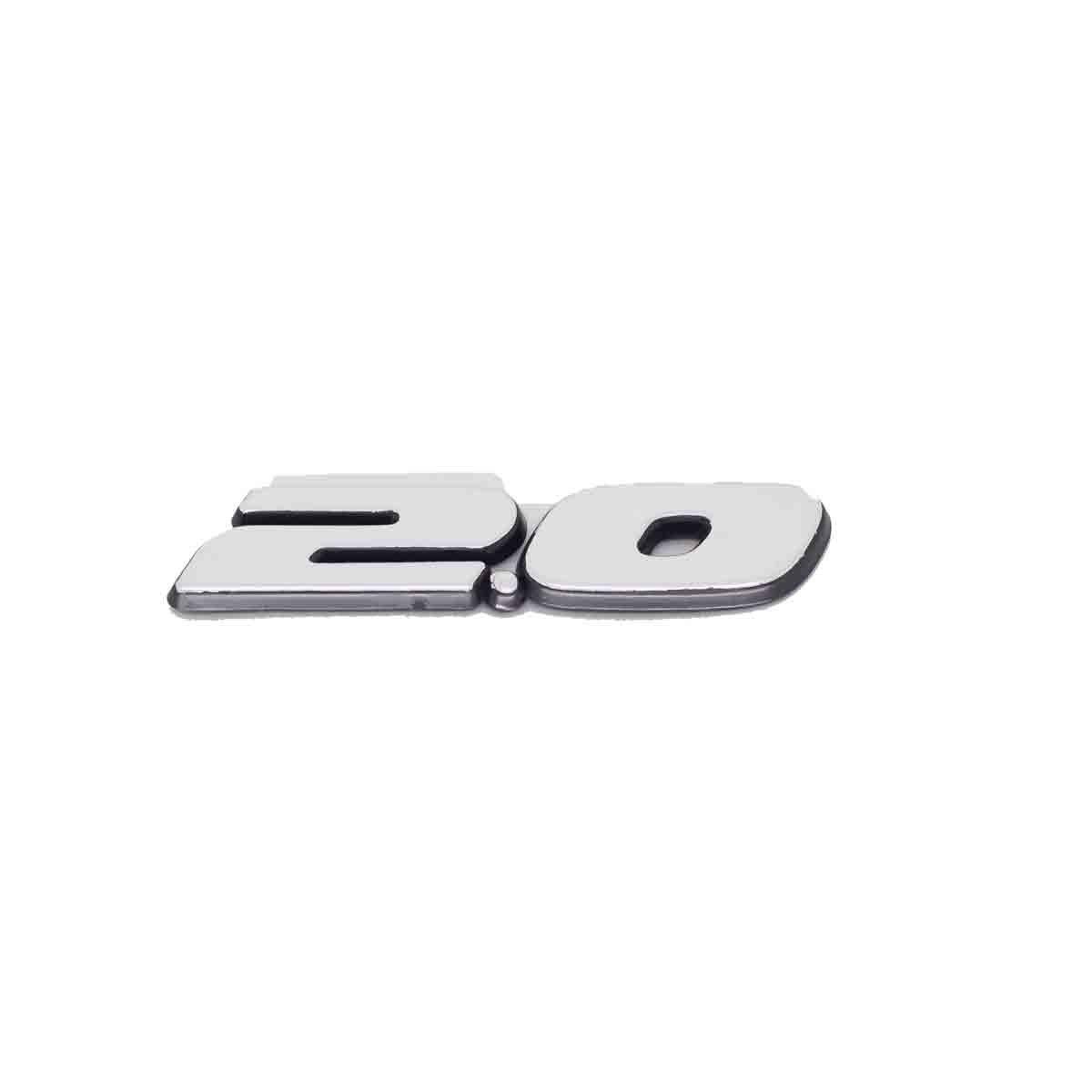 Emblema 2.0 Gol / Voyage / Parati / Saveiro / Todos 97/99 Escovado