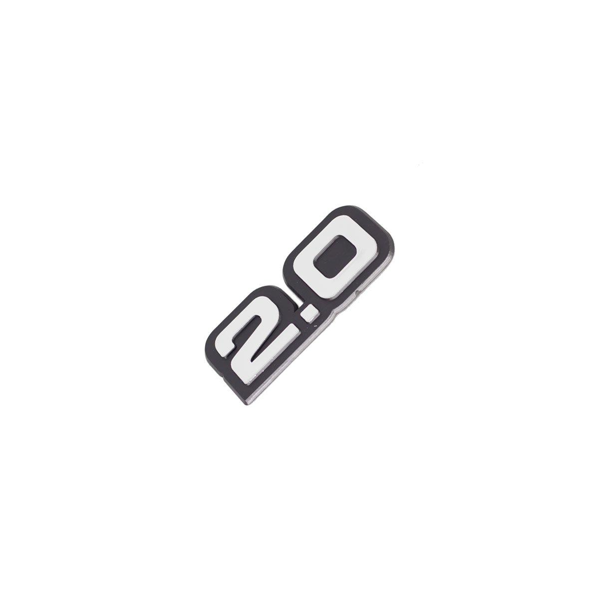 Emblema 2.0 Monza / Opala / Caravan / Todos /90 Brilhante