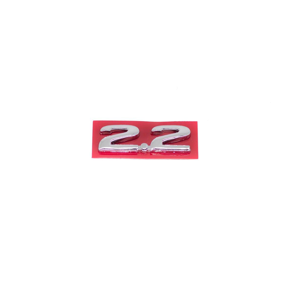 Emblema 2.2 Vectra/Omega Cromado