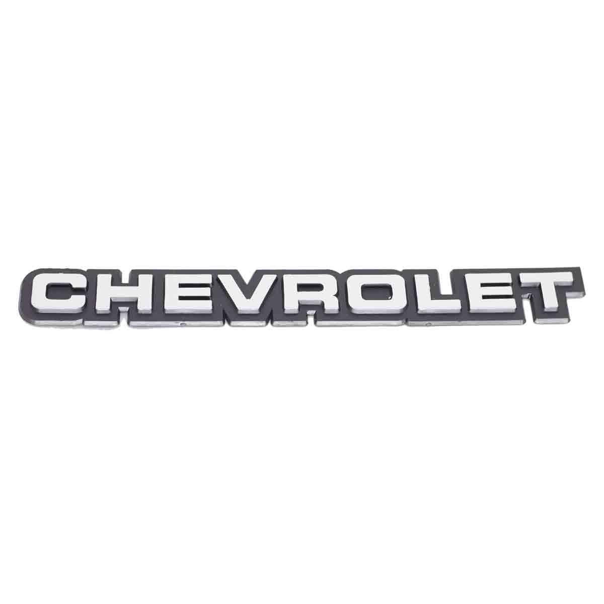 Emblema Chevrolet Tampa Traseira Monza /90 Brilhante