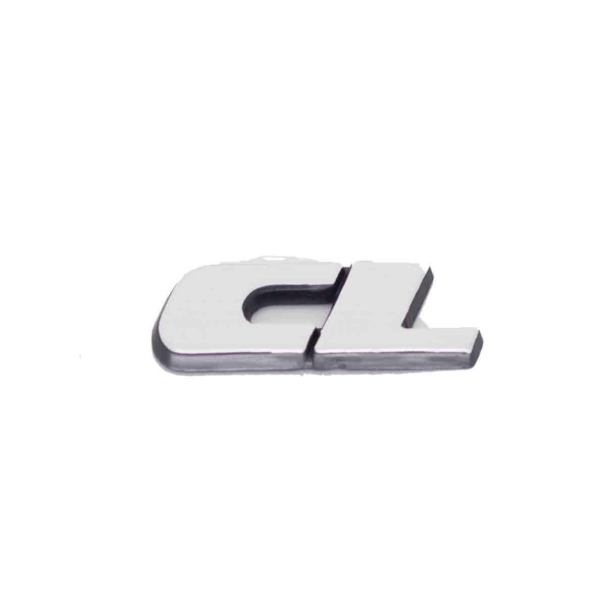 Emblema CL (Gol / Voyage / Parati / Saveiro / Todos 97/99) Escovado