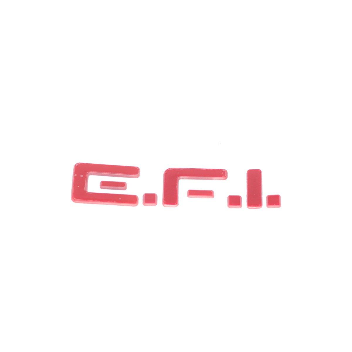 Emblema EFI (Kadet/Monza) Vermelho