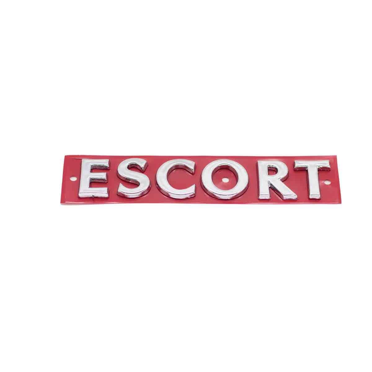 Emblema Escort 97/ Cromado